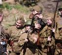 В Центральном парке воссоздали боевой подвиг советских солдат