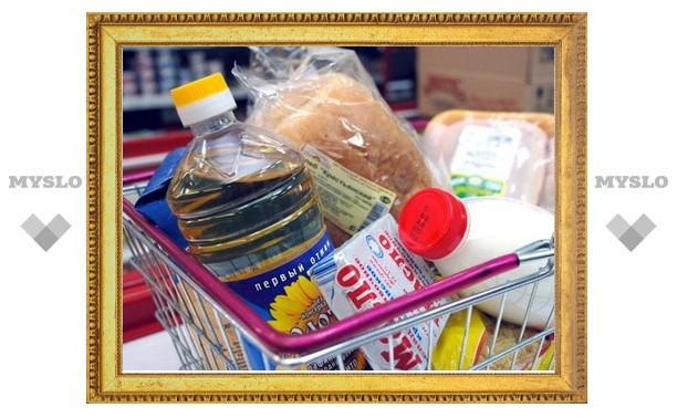 В Тульской области подорожали продукты питания первой необходимости