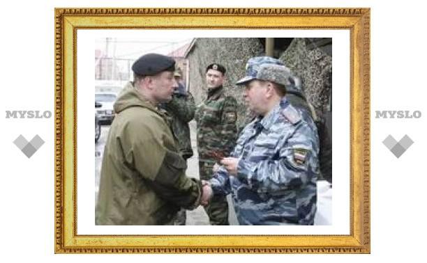 Главный тульский милиционер посетил Чечню