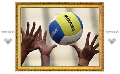 Юные тульские волейболистки не попали в финал