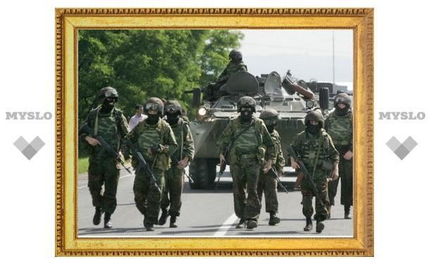 Тульских спецназовцев отправили на Северный Кавказ