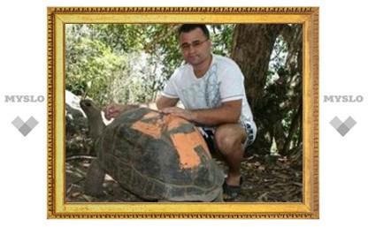 В Тулу привезут гигантскую черепаху