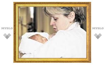 Влад Радимов забрал жену из роддома