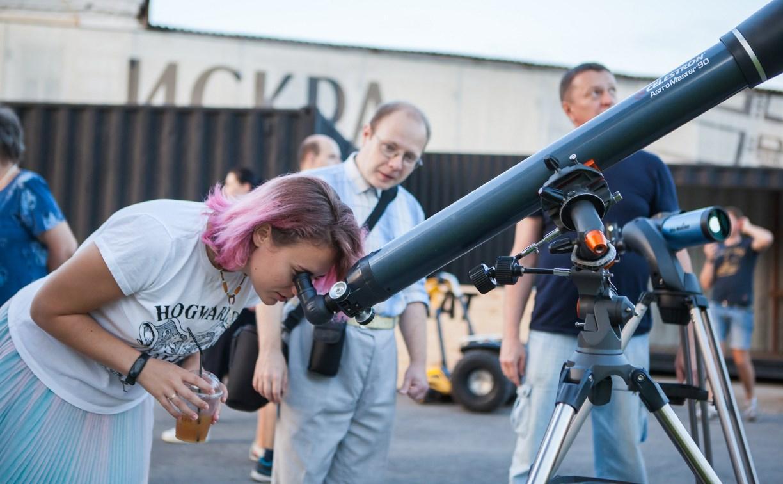 Как туляки наблюдали «кровавую луну»: фоторепортаж