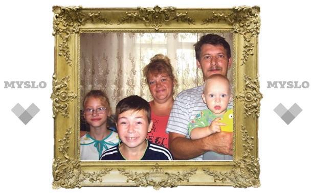 Нечужие дети: Туляки вошли в фотоальбом Павла Астахова «Россия без сирот»