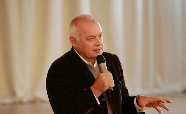 Дмитрий Киселёв пообщался с тульскими журналистами