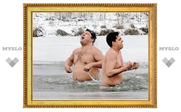 В Тульский избирком не пустят не купавшихся в проруби на Крещение