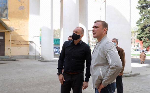 Алексей Дюмин об узловском ДК: «Я поражен, какая красота была скрыта от глаз жителей!»