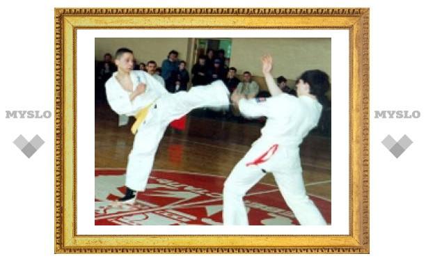 Тульские каратисты завоевали четыре медали