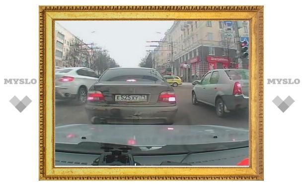 ПДД в Туле – не для BMW?