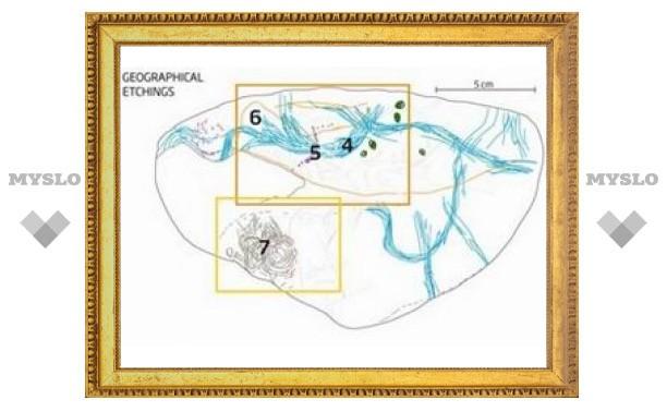 Испанские ученые расшифровали доисторическую карту