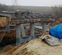 Очевидцы о ЧП в Донском: Пролёт строящегося моста упал в реку Дон