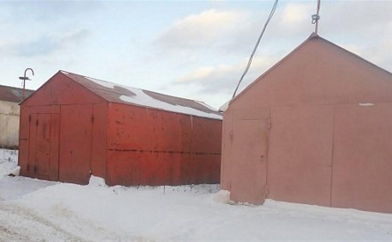 Жители тульского Хрущево незаконно построили гаражи