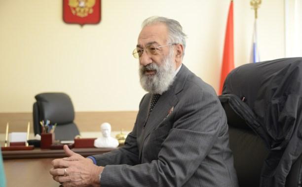 Владимир Груздев: С Артуром Чилингаровым мы и впредь будем отстаивать интересы тульского края