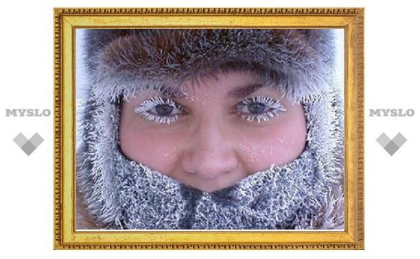 Эти выходные в Туле - самые морозные