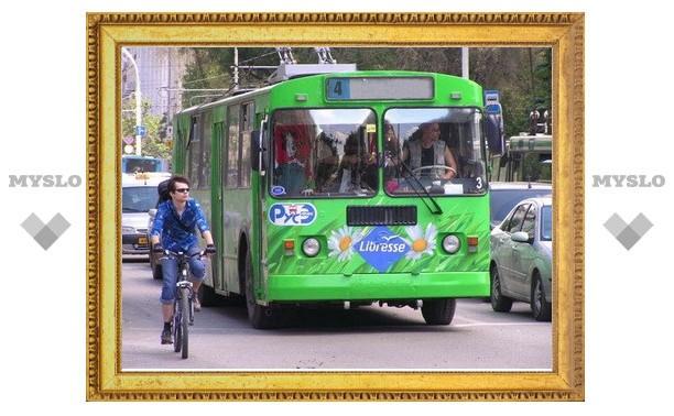 В субботу 11 июня тульский троллейбус №4 изменит маршрут