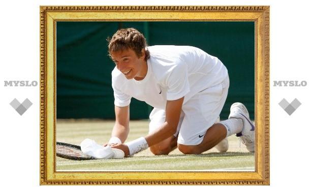 Тульский теннисист уступил в первом круге турнира в Сан-Паулу