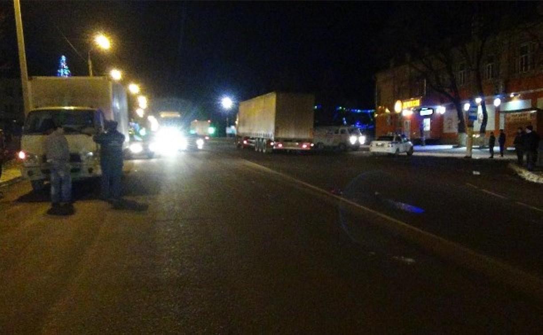 В Тульской области грузовой Hyundai насмерть сбил пешехода