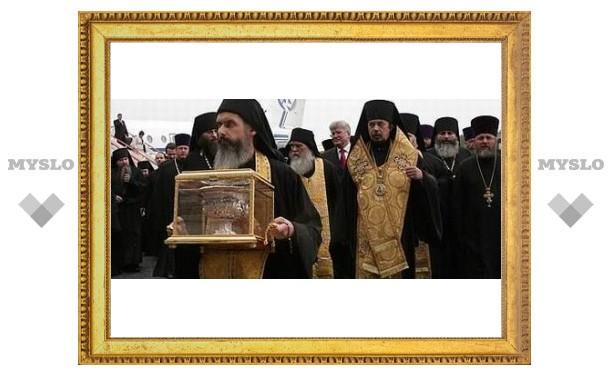 Православные святыни привезли в Тулу