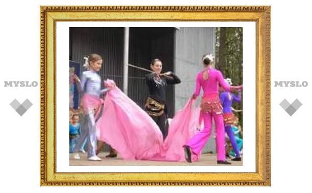 """""""Детский цирк"""" поздравил туляков с праздником"""