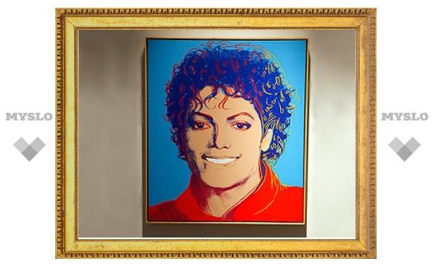Портрет Майкла Джексона работы Уорхола продан на аукционе Christie's за 812,5 тысячи долларов