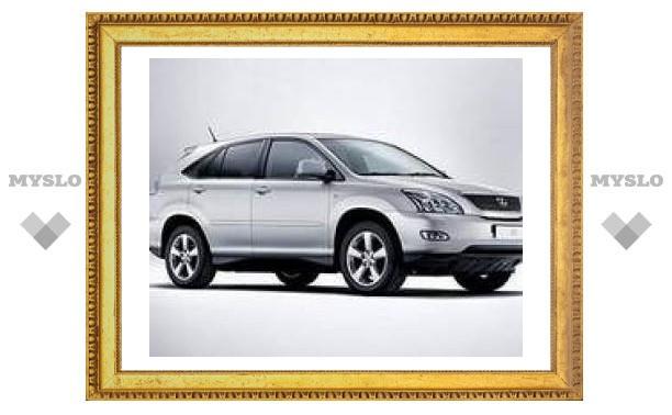 Президентский Lexus олимпийской чемпионки вернули из угона