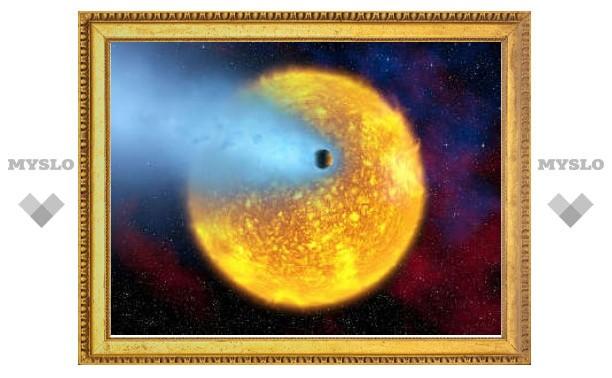 Горячая вода поставила под сомнение теории звездообразования