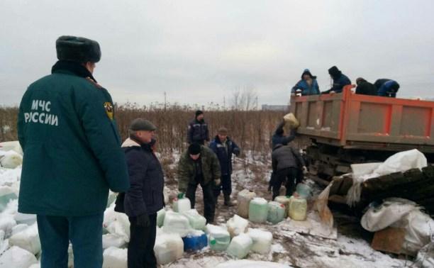 Предполагаемый виновник свалки опасных химикатов в Туле найден