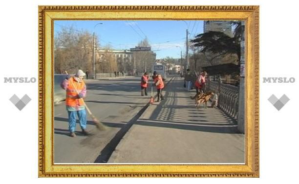 На весеннюю уборку Тулы потратят 100 миллионов рублей