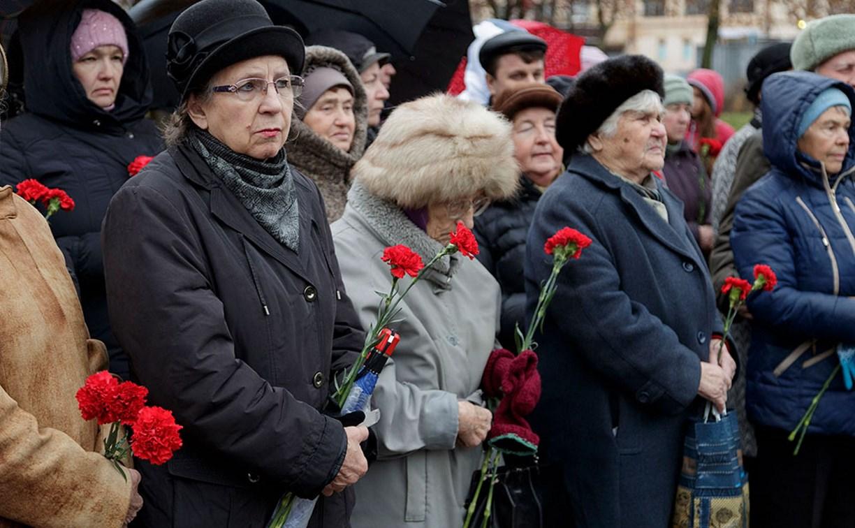 В Туле почтили память жертв политических репрессий