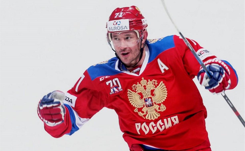 Хоккеист Илья Ковальчук поддержал участников Международного детского хоккейного турнира EuroChem Cup 2018