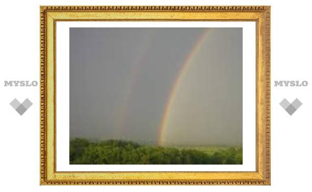 Туляков порадовала радуга
