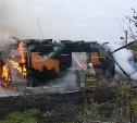 Пламя уничтожило жилой дом в Ясногорском районе