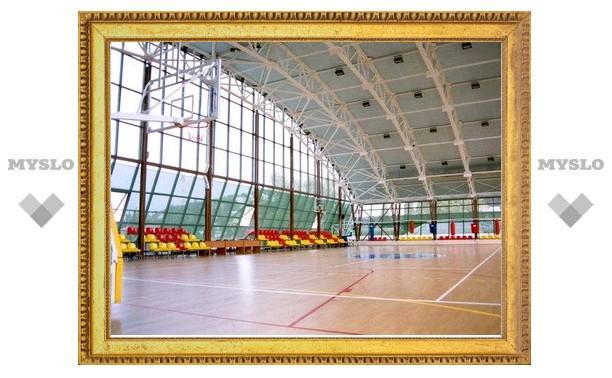 К 2014 году в Тульской области построят 4 спорткомплекса