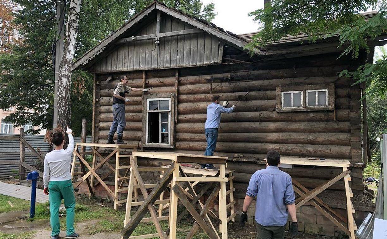 В Туле спасают старинную водоразборную будку: фоторепортаж