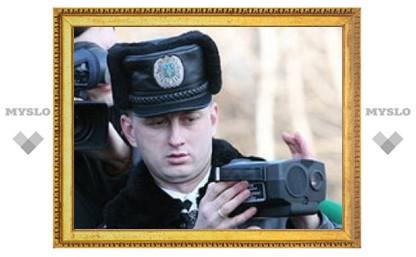 """Под Тулой гаишники расстреляли """"копейку"""""""