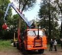 Парк тульской лесохозяйственной техники пополнился современным тягачом