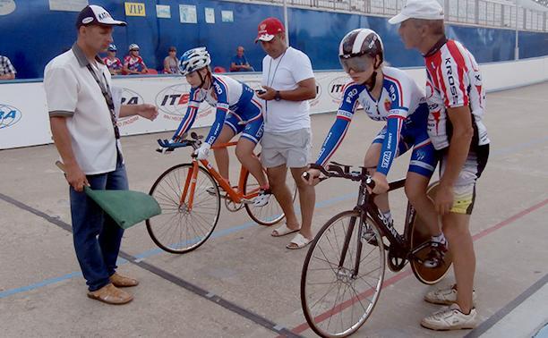 В Туле завершились соревнования по велоспорту на треке