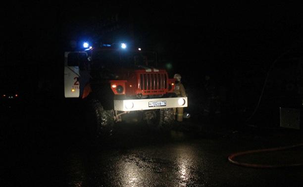 Из-за морозов в Тульском регионе увеличилось количество пожаров