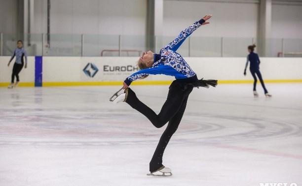 В Алексине прошел чемпионат области по фигурному катанию