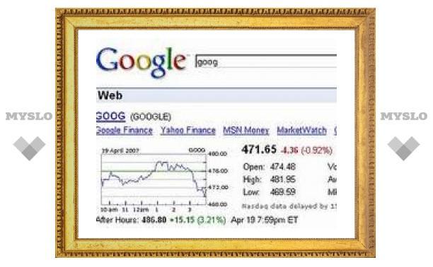 Прибыль Google за год выросла на 69 процентов