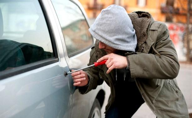 В Суворове угонщики попались при попытке украсть очередное авто
