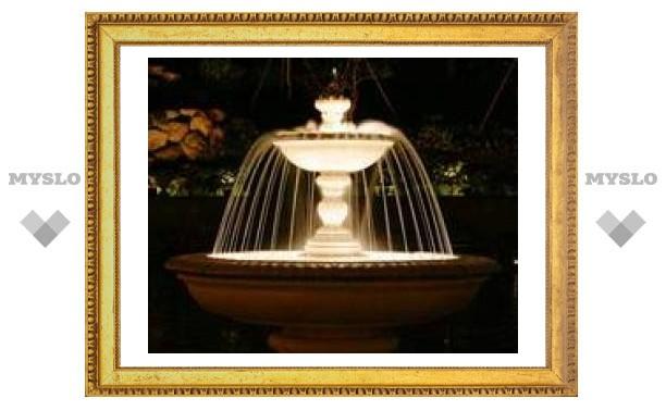 В Туле объявят конкурс на управление фонтанами
