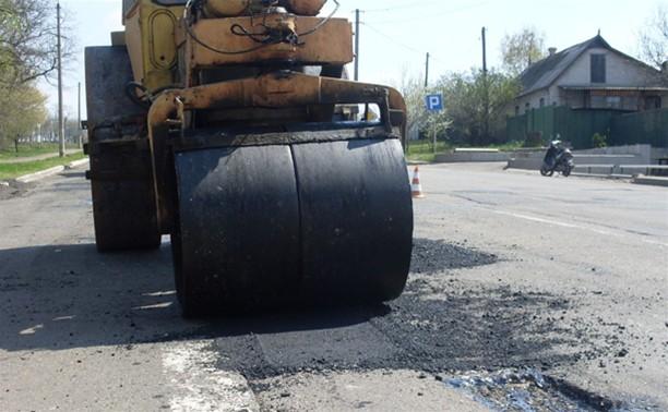 В Туле начали ремонтировать дороги второй  очереди