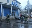 Ночью 10 пожарных расчётов тушили сауну в Пролетарском районе