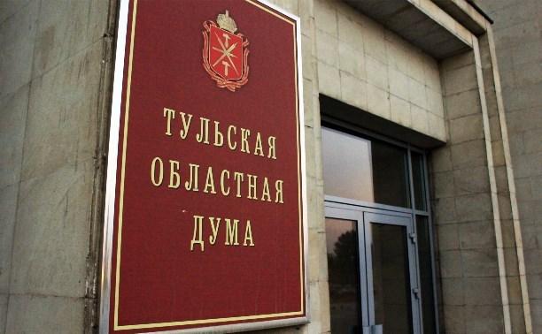 Тульская областная Дума рассмотрит законопроект о соцзащите представителей народных дружин