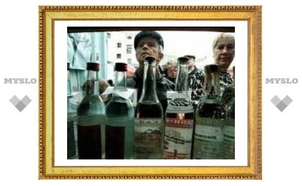 Кризис добрался до российских производителей водки