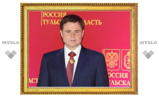 Владимир Груздев подписал указ о сокращени депутатов Тульской областной Думы