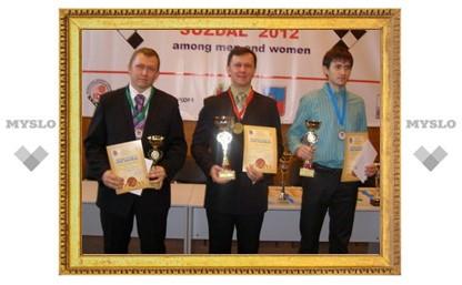 Туляк взял серебро Европы по русским шашкам