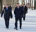 Алексей Дюмин посетил Тёпло-Огарёвский район
